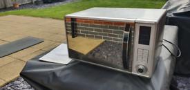 Russel Hobbs Silver 800w Digital Microwave