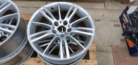 """18"""" Genuine BMW Alloy Wheels"""
