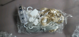 317)led lights brand new usb with hangers£5*)+skin firming machine new