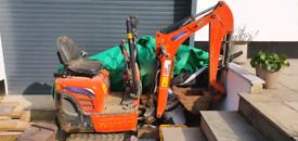 GAP Group 0.8 tonne Micro Excavator