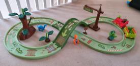 Dinosaur train track