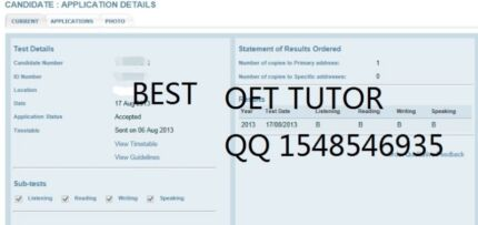 Nursing OET, Passing OET Guaranteed - Best OET Preparation group