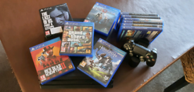 Playstation 4 Pro 1TB including games