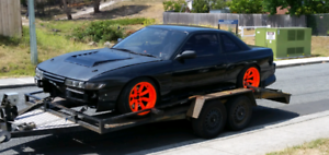 Ls1 s13 drift car with Rego
