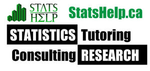 Statistics and Research consultant/tutor