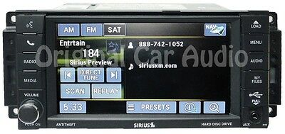 CHRYSLER DODGE JEEP RHB Mygig Navigation GPS Touch Screen Radio MP3 CD  Player