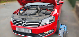 Engine carbon cleaning with free diagnostics