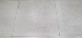 34 x Luna White Floor Tiles 600 x 600 (New 12.2 sq m)