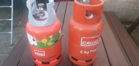 2x 6kg Calor Propane Canisters