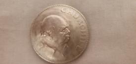 Winston Churchill coin 1965