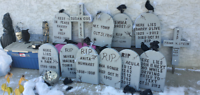Complete Halloween graveyard for sale