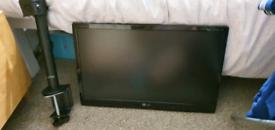 "22"" monitor/tv. Flatron LG M2280D"