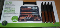 new BBQ kit Barbeque Deluxe Grilling Set 23 pc