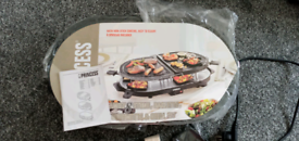 Classic family8 stone, raclette,gourmette & grill set