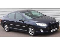 Peugeot 407 2.0HDi Sport Manual 4 Door Saloon Blue 009