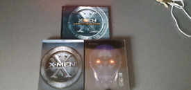 X-Men 1st class and X-Men days of future past Blu Ray Steelbooks for sale  Bransholme, East Yorkshire