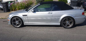 2003 BMW M3 Convertible SMG + Excellente condition !!