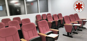 Classroom / exercise room for rent: Daily or monthly rates