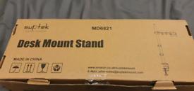 Single arm monitor mount