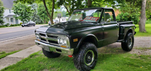 1970 GMC K10 4x4 shortbox