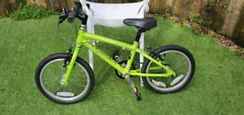 ridgeback dimension 16 inc lightweight kids bike like islabike or frog