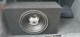 JBL SUB & JBL AMP