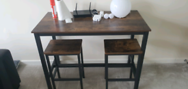 Dining table / dining bench