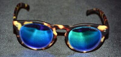 Illesteva Leonard Round Brown Tortoise 48×22-145 Sunglasses Italy