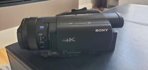 Sony 4k camcorder used ONCE - Cost $2700 almost half price.