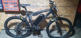 Cube AMS full suspension bafang 35mph throttle ebike electric bike