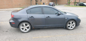 "Mazda 3. Automatic/AC/ 17"" rims/Runs great!"