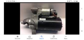 Audi a4 b8 starter motor 2lt TDI