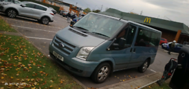 2012 Ford Transit 2.0 TDCi 280 Tourneo Limited Low Roof Bus S 5dr