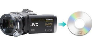 We create DVD from video moviefiles of digital camera-camcorders