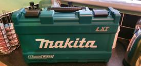 Makita cordless drill combo.