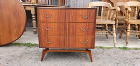 Includes Delivery for E London Meredew Chest of Drawers Mid Century