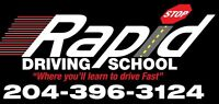 Driving lessons/ Roadtest at Bison available