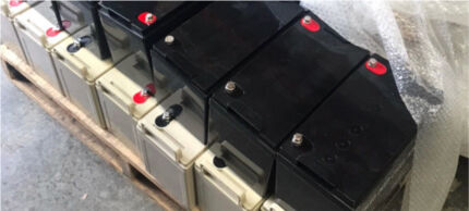 12V4AH agm slam deep cycle battery 130a was $450 Lane Cove West Lane Cove Area Preview