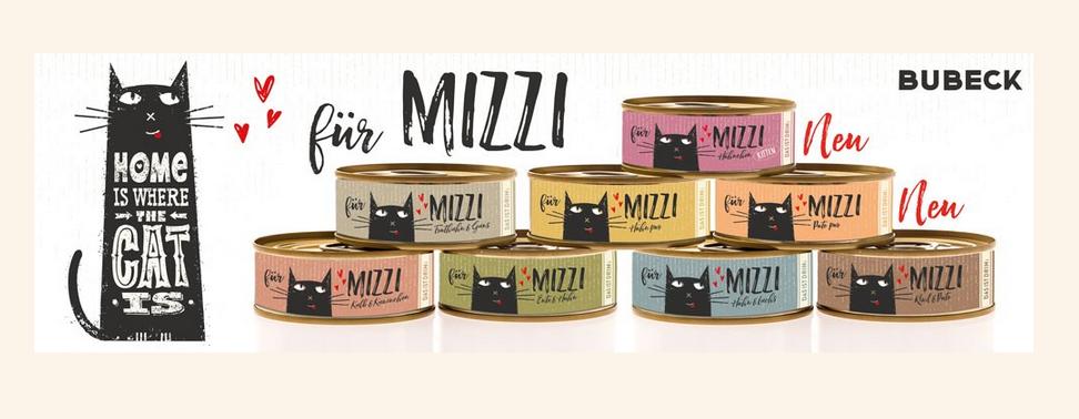 BUBECK Katzen Nassfutter Katze-Mizzi Für echte Fleischliebhaber!