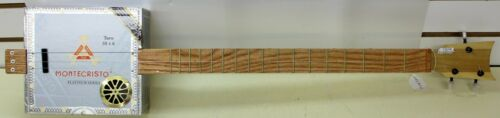 Montecristo Platinum Series Handmade Cigar Box Guitar Acoustic/Electric 3-String