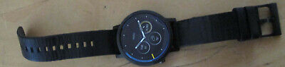 Black Moto 360 2nd gen 46mm smartwatch