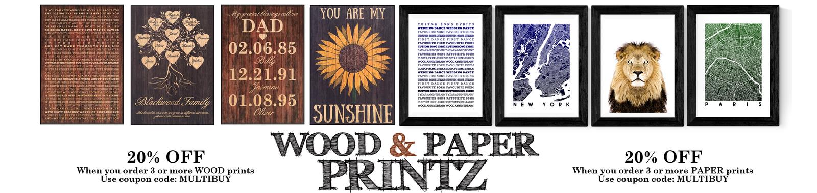 Wood Printz
