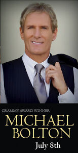 Michael Bolton at Mission Hill Winery (2 Tickets)