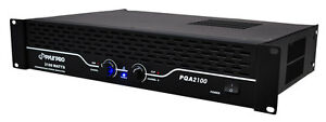 PYLE-PRO-PQA2100-2100W-19-Rack-Mount-2-Channel-Power-DJ-Amplifier-Amp-Stereo