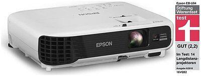 Epson EB-U04,  1920x1200 WUXGA  LCD (Beamer)