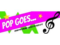 GROUP POP SINGING CLASSES FOR KIDS / CHILDREN IN BRIGHTON & HOVE