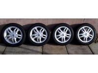 Renault Clio wheels and 4 x Avon ZV7 185 55 R15 V82 tyres