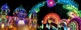 £50.00 2 tickets for The Festival of Light Manchester