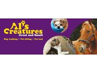 Al's Creatures Great & Small Dog Walking and Pet Sitting Services
