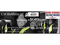Delivery Drivers wanted 7.5t C1 and 3.5t van drivers in Avonmouth